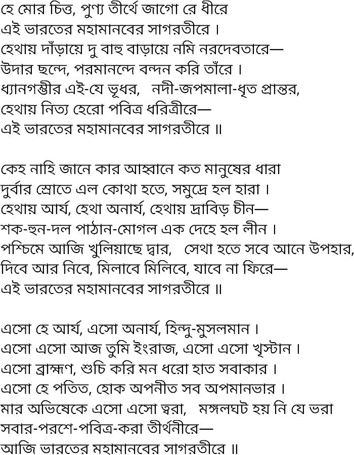 Sanchayita Rabindranath Tagore Pdf